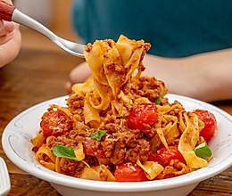 #秋天怎么吃#意大利肉酱意面|浓郁风味的做法