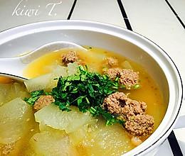 羊肉丸子冬瓜汤的做法