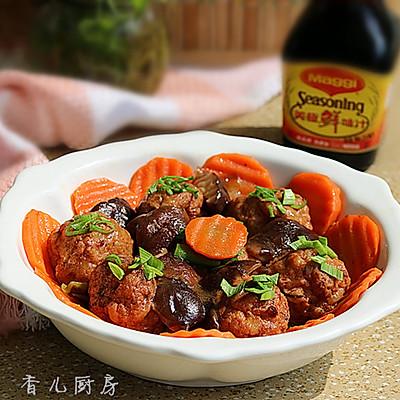 香菇烧肉丸子