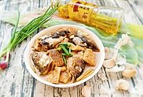 鱼头焖豆腐#金龙鱼外婆乡 小榨菜籽油  最强家乡菜#的做法