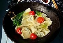 聚财~荠菜猪肉大馄饨#好彩头#的做法