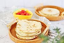 卷菜配粥万能发面烙饼 做法超级简单的做法