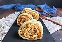 #年味十足的中式面点#山东萝卜丝豆腐卷的做法