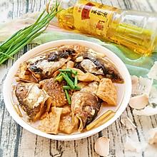 鱼头焖豆腐#金龙鱼外婆乡 小榨菜籽油  最强家乡菜#
