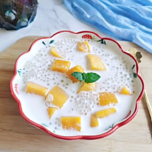 芒果西米露#以美食的名义说爱她#