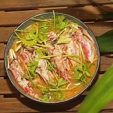 #父亲节,给老爸做道菜#姜丝煮小红鱼