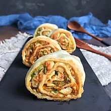 #年味十足的中式面点#山东萝卜丝豆腐卷