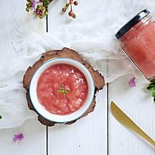 #硬核菜谱制作人#粉色少女系的蜜桃果酱