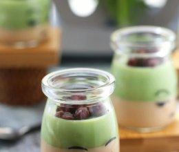 知食力菜谱——红豆奶茶双色布丁的做法