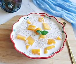 芒果西米露#以美食的名义说爱她#的做法