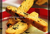 海苔肉松饼干棒的做法