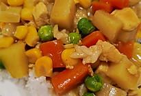 咖喱鸡肉饭的做法