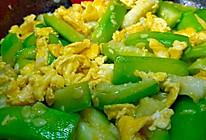 #夏日开胃餐#丝瓜炒鸡蛋丨夏日防暑3分钟快炒的做法