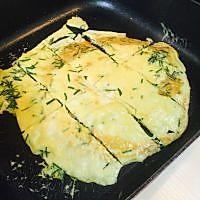 韭菜煎蛋的做法图解7