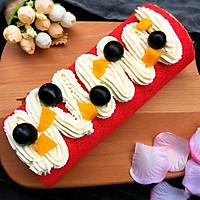 红丝绒大米蛋糕卷+#松下多面美味#的做法图解16
