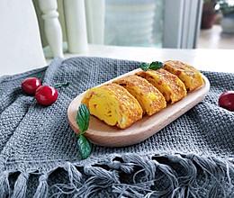 快手早餐—日式火腿玉子烧的做法
