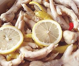 清新柠檬泡椒鸡爪的做法