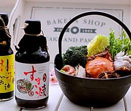 海鲜寿喜锅#竹木火锅,文艺腹兴#的做法