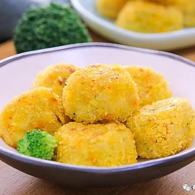 煎蔬菜丸子 宝宝辅食食谱