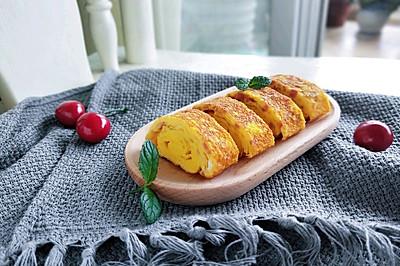 快手早餐—日式火腿玉子烧