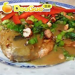 泰式花生风味猪肉排的做法