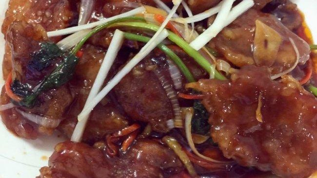 锅包肉(番茄酱版)超详细的步骤的做法