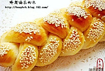 蜂蜜编花面包的做法