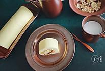 #换着花样吃早餐#【海苔肉松蛋糕卷】的做法