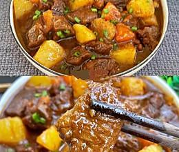 滋补暖胃的番茄土豆炖牛肉!汤汁浓郁巨下饭得啦的做法