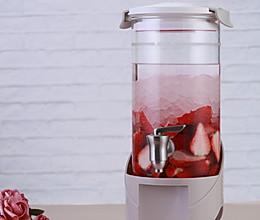粉红少女爱的草莓酒的做法