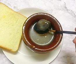 #麦子厨房#美食锅出品:民间瓦罐皮蛋肉饼煨汤的做法