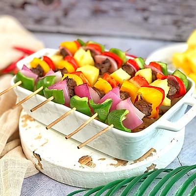 夏威夷风情烤牛肉串
