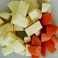 时蔬鸡肉咖喱焗饭(自制咖喱酱)#宜家让家更有味#的做法图解8