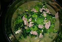 猪肉炒芥菜的做法