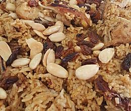 kabsa 阿拉伯叙利亚坚果鸡饭经典阿拉伯美食啊的做法