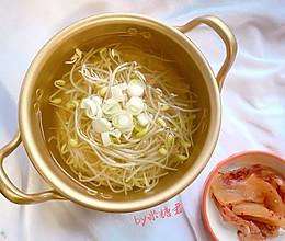 韩式醒酒豆芽汤的做法