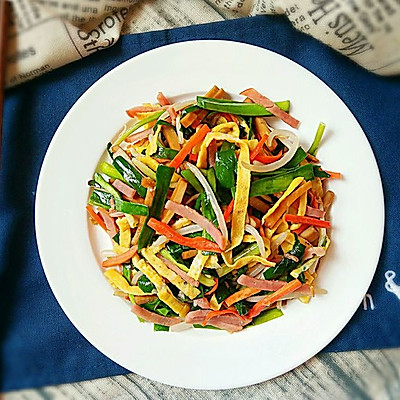 老北京炒合菜――春季最时髦的混搭吃法