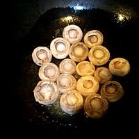 煎黑胡椒口蘑的做法图解2