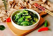 #快手又营养,我家的冬日必备菜品#蒜蓉小白菜的做法