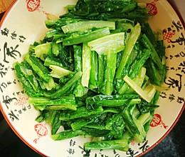 家常蒜香油麦菜的做法