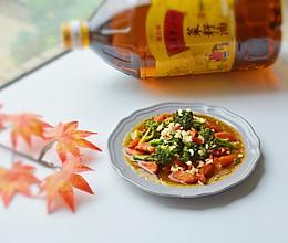 胡萝卜烧西兰花#金龙鱼外婆乡小榨菜菜籽油 外婆的食光机#的做法