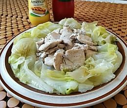 水煮鸡胸肉的做法
