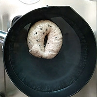#父亲节,给老爸做道菜#黑麦芝麻贝果(无糖版)的做法图解11