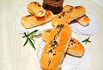 火腿肠肉松面包的做法