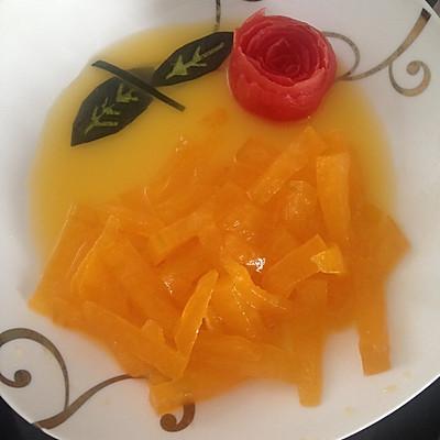 橙汁冬瓜-港式粤菜甜品简单易做下午茶必备