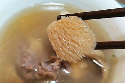 秘制猴头菇鸡汤
