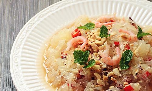 泰式柚子虾沙拉的做法