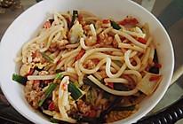 昆明炒米线的做法