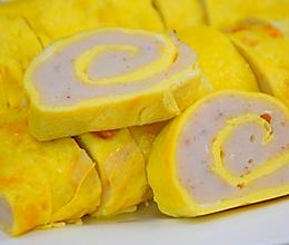 鸡蛋鱼丸卷的做法