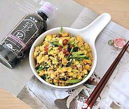 #福气年夜菜#腊肉时蔬炒米饭的做法